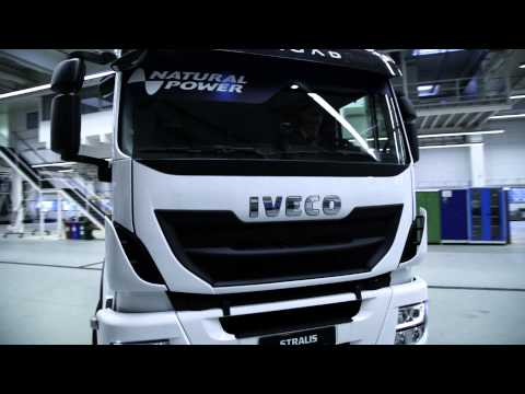 STRALIS LNG: The Iveco's solution on the alternative fuel is the liquefied Natural gas.
