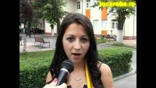 tocaroba.ro Interviu Sandra ECTS Targoviste 2010