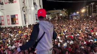TROUBLEBOY HTIMAKER - Vwazin Live Performance at Leogane