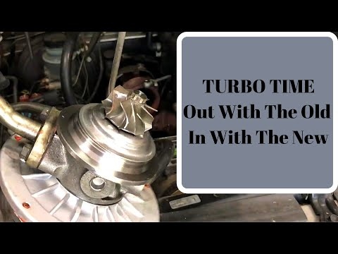 4JX1 Turbo Change Out