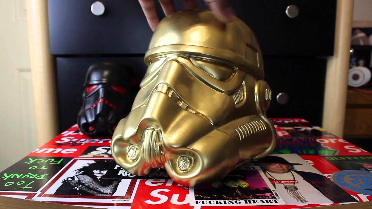 Star Wars Design A Vinyl Stormtrooper Helmet Review Youtube