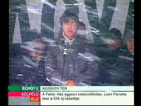 Magyar Hírlap tüntetés - Pörzse Sándor beszéde