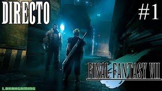 Final Fantasy VII - Guía 100% - Directo #1 - Español - Una leyenda de los Jrpg - Ps4 - Retro