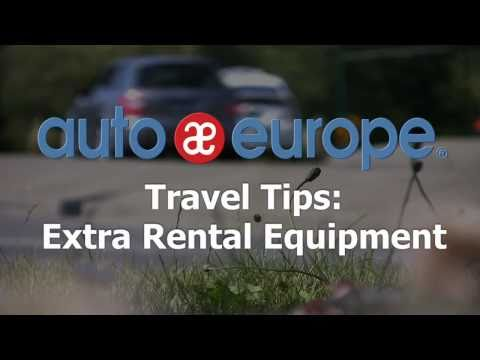 Travel Tips: Extra Equipment for Your Car Rental in Europe