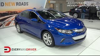 2016 Chevrolet Volt: Electric Hybrid Car on Everyman Driver, Dave Erickson