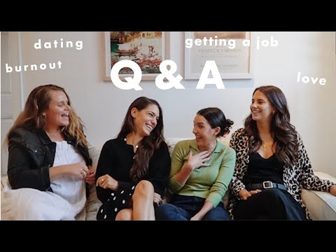 nyc job & dating advice! |  q&a with a photographer, investment banker, and social media manager