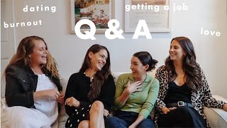 nyc job & dating advice!    q&a with a photographer, investment banker, and social media manager