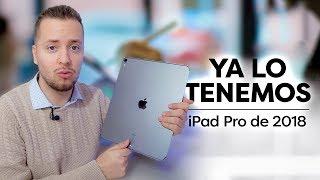 Ya tenemos el iPad Pro de 2018 y sus accesorios