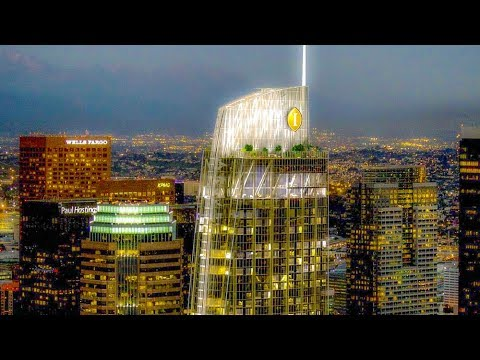 A Walk Around The New Intercontinental Hotel, Downtown Los Angeles