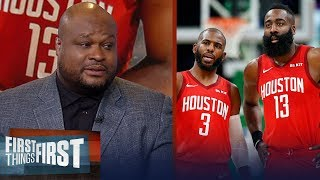 Antoine Walker: Tough road ahead for the Rockets falling to the No.4 seed | NBA | FIRST THINGS FIRST