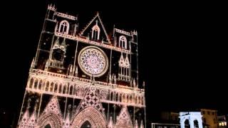 Fête des Lumières - Lyon 2012 - Cathédrale Saint-Jean-Baptiste de Lyon