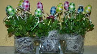 Пасхальный декор  Как украсить дом к Пасхе(Отличным способом подчеркнуть атмосферу праздника-это создать своими руками пасхальный декор для дома...., 2016-04-20T17:59:50.000Z)