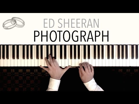 Ed Sheeran - PHOTOGRAPH Wedding  featuring Pachelbel&39;s Canon in D  Piano Cover