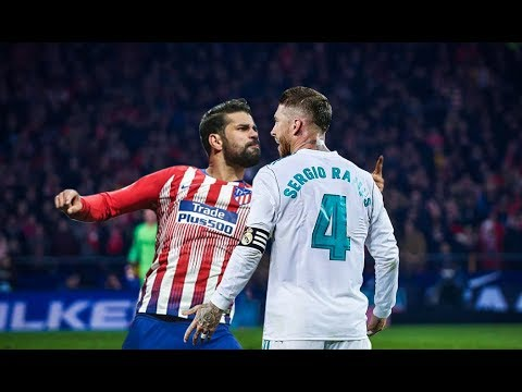 Sergio ramos vs Diego costa Fight and Furious moments - New
