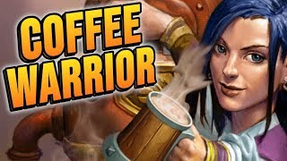 COFFEE WARRIOR Feat. Barista Lynchen! | Rise of Shadows | Hearthstone