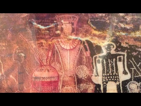 Egyptian? Aztec?  Iberian? or Native American Petroglyphs?