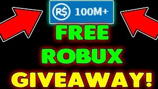 1000K+ FREE ROBUX - Get Free Robux On Roblox 2017 [ GIVEAWAY]