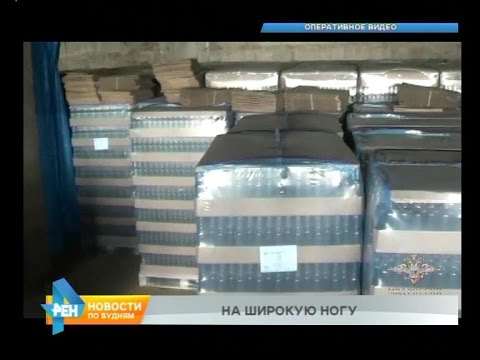 Сразу два завода по производству контрафактного алкоголя обнаружили в Иркутской области