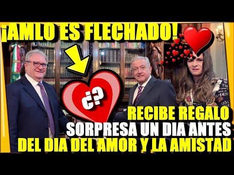 🔴 ¡AMLO ES FLECHADO! RECIBE MEGA REGALO SORPRESA EN SU OFICINA PRESIDENCIAL - ESTADISTICA POLITICA