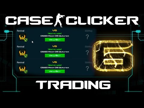 Case Clicker | Match Betting #6 | Trading Match Betting Wins
