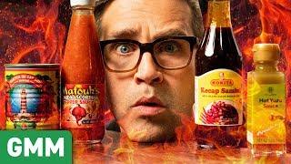 Download International Hot Sauce Taste Test Mp3 and Videos