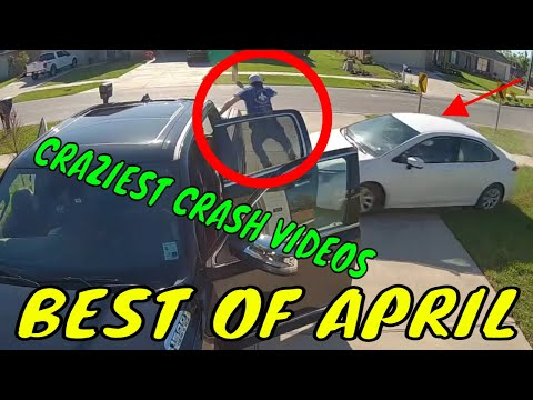 BEST OF THE MONTH (April)-Bad drivers & Driving fails -learn how to drive.