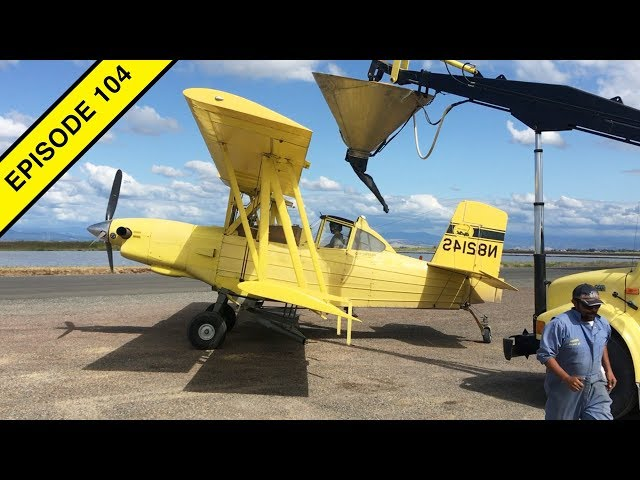 Seeding California Rice by Plane in this Air Tractor Video!