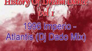 History Of Dream Dance  vol  1 nonstop mix mixed by Dj Zidizi