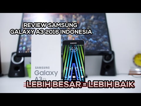 Unboxing & Review Samsung Galaxy A3 2016 Bahasa Indonesia