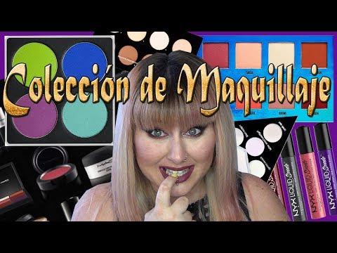 Mi Coleccion de maquillaje Actualizada 2017