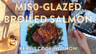 Kenji's Cooking Show | Miso-Glazed Salmon