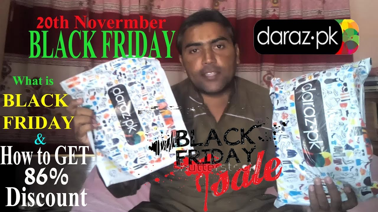 How To Get 86 Discounts On Black Friday From Daraz Pk Youtube