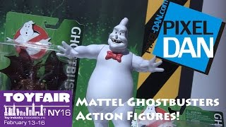 Mattel Ghostbusters 2016 New Action Figures Product Walkthrough at Toy Fair