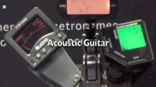 Korg AW2G Guitar Tuner Shootout