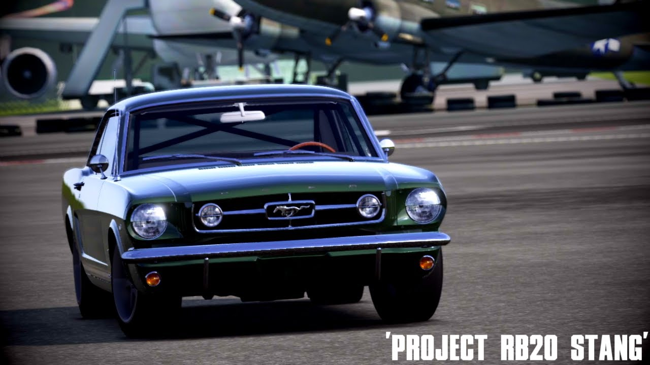 Forza 4 hacked swap ff tokyo drift1965 mustang with nissan rb26 engine youtube