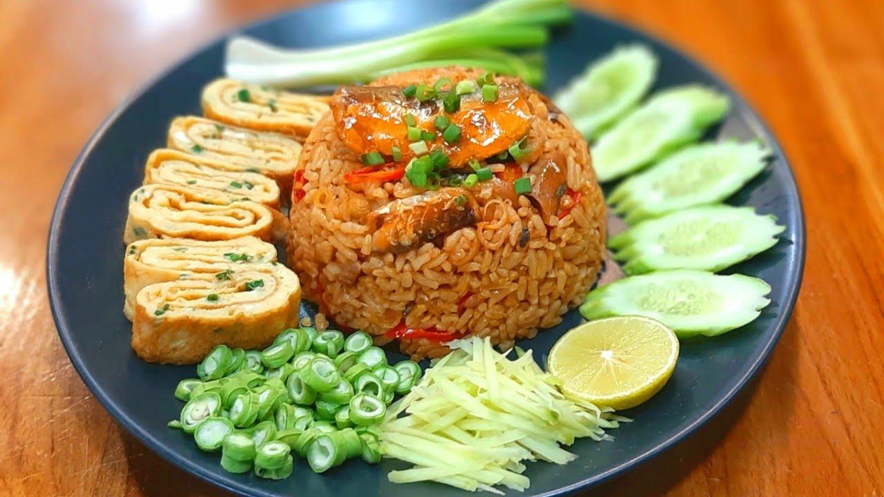 #ข้าวผัดปลากระป๋อง เมนูอร่อยๆ เข้ากับสถานการณ์ปัจจุบัน สะดวกทำง่ายอร่อย