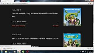 How to download shrek full movie series in hindi 720p with torrent