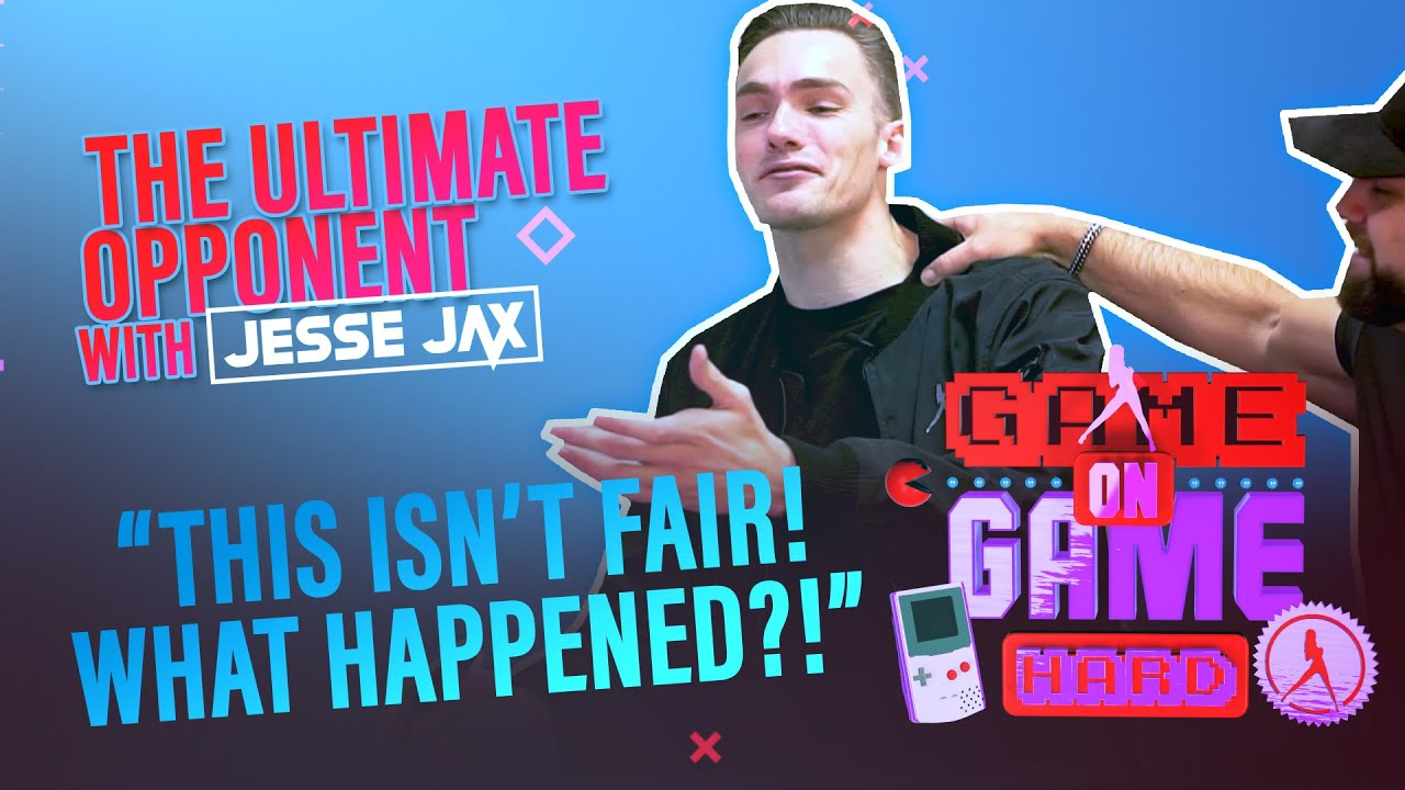 JESSE JAX the ultimate opponent | Game On. Game Hard.