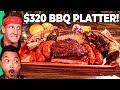 $14 TEXAS BBQ VS $320 TEXAS BBQ!! Vegan's Worst Nightmare!!