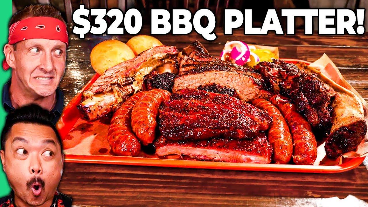 Download $14 TEXAS BBQ VS $320 TEXAS BBQ!! Vegan's Worst Nightmare!!