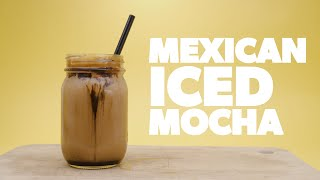 Homemade Iced Mexican Mocha Intro