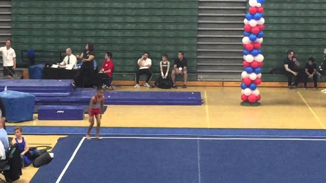 Level 7 Boys Gymnastics- Floor - YouTube