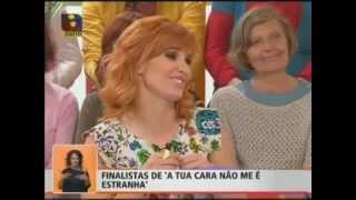 Finalistas de A Tua Cara Não Me É Estranha  no voce na tv