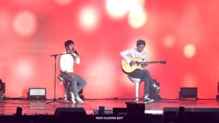 151010 exo love concert boyfriendacoustic ver d o with chanyeol