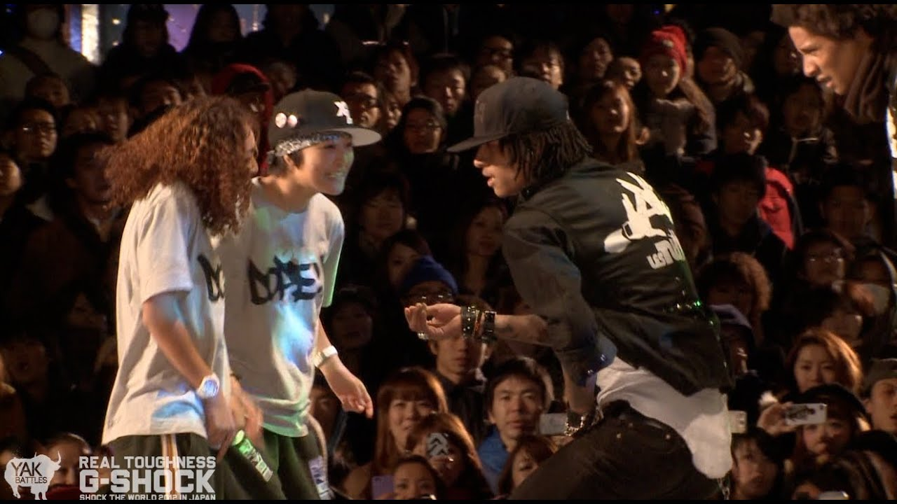 All New Rush >> Les Twins vs Rush Ball G-SHOCK REAL TOUGHNESS Japan 2012 | YAK FILMS - YouTube
