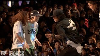 Les Twins vs Rush Ball G-SHOCK REAL TOUGHNESS Japan 2012 | YAK FILMS thumbnail