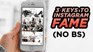 3 Keys To Gain Instagram Followers❗️(No BS) REAL Influence + BEAT The Algorithm | DevanOnTech