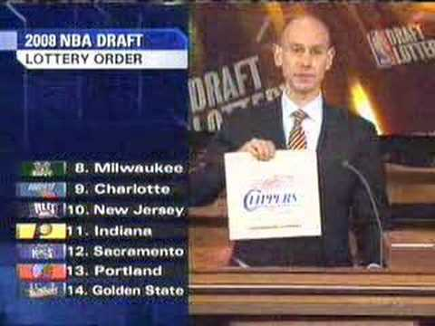2008 NBA Draft Lottery: Bulls get First Pick!