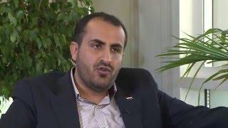 محمد عبد السلام رئيس وفد حركة أنصار الله الحوثية إلى مشاورات السلام اليمنية