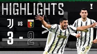 Juventus 3 2 Genoa Rafia Scores Debut Winner Coppa Italia Highlights